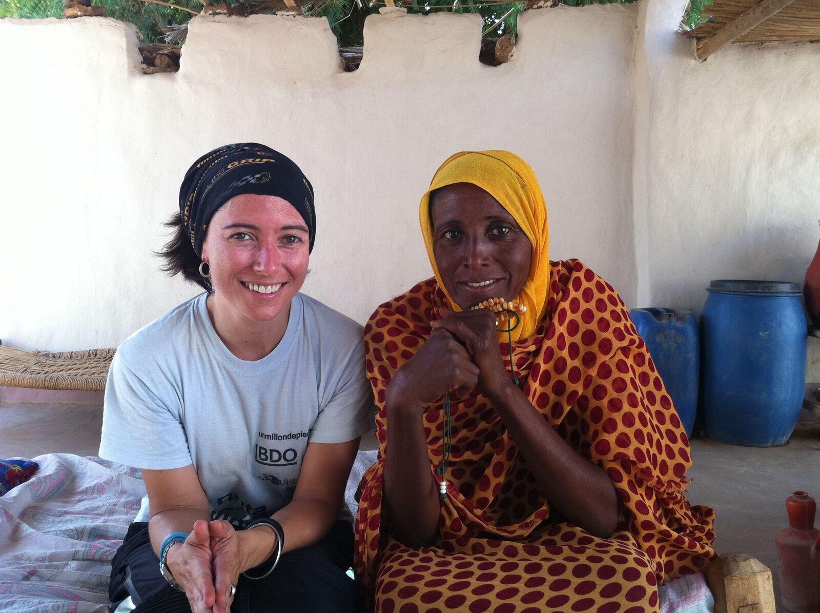 Sudán con señora